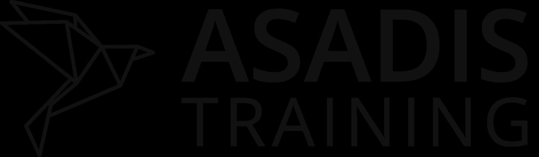 Asadis logo: an origami bird